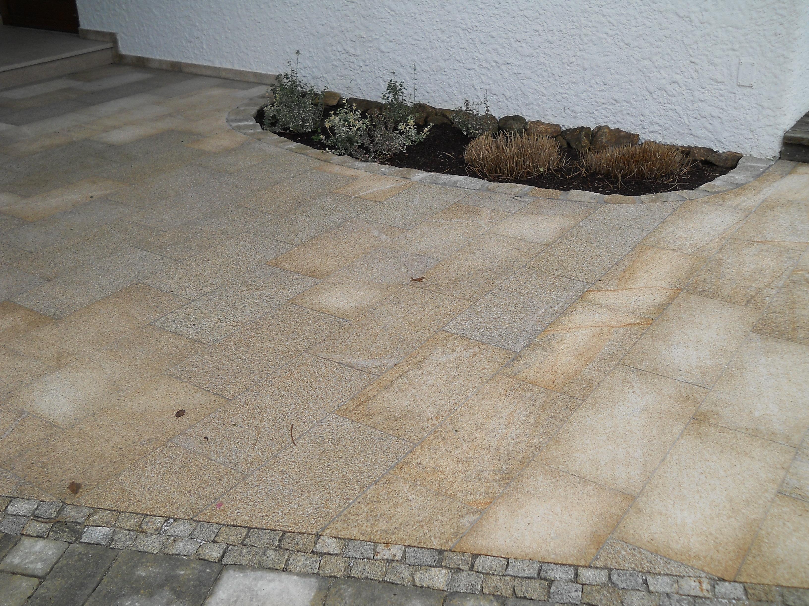 Granit Bodenplatten gelbgranit