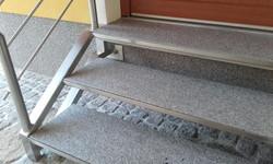 Granit Stufenanlage