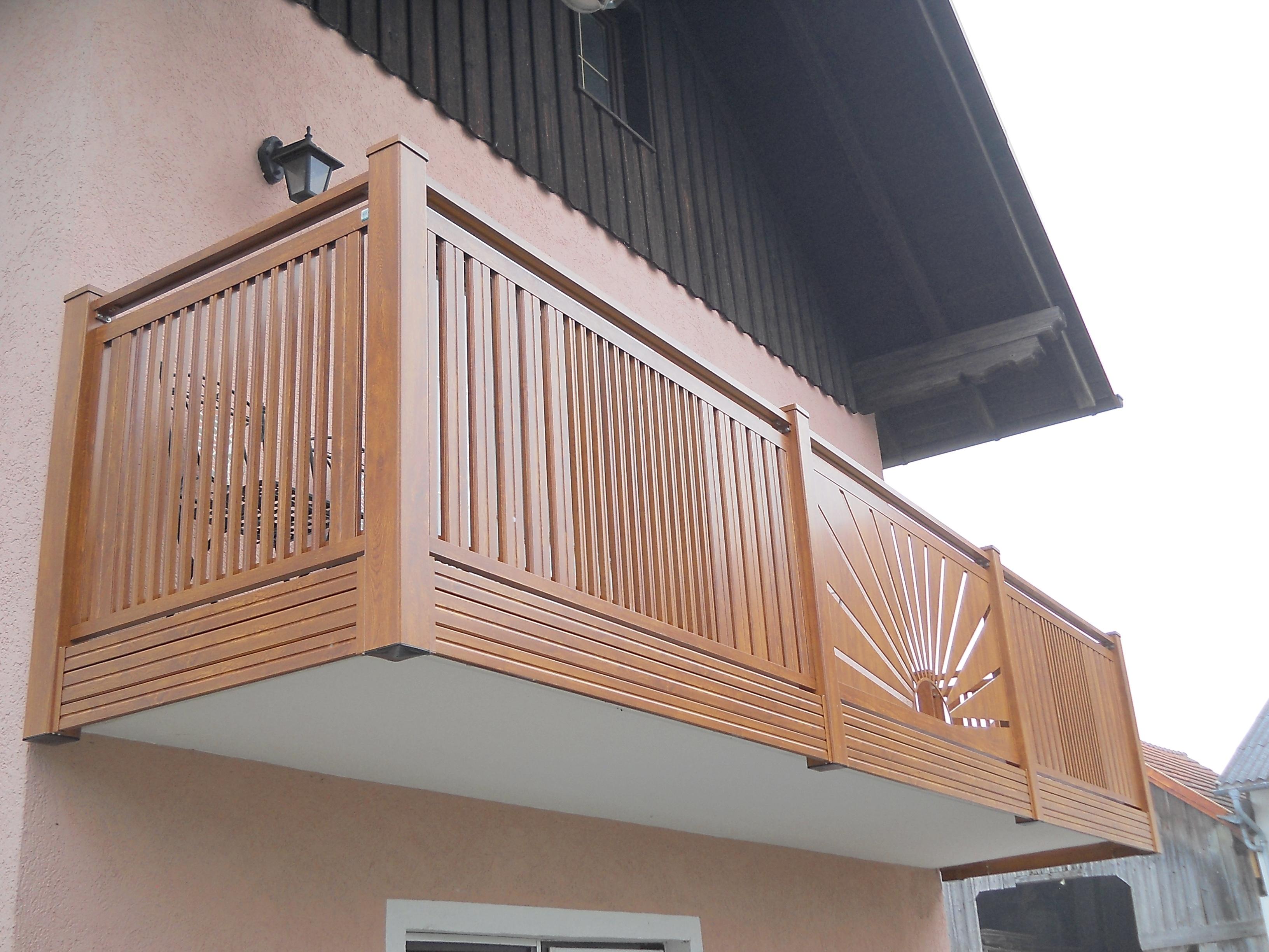 Alu Balkon 4