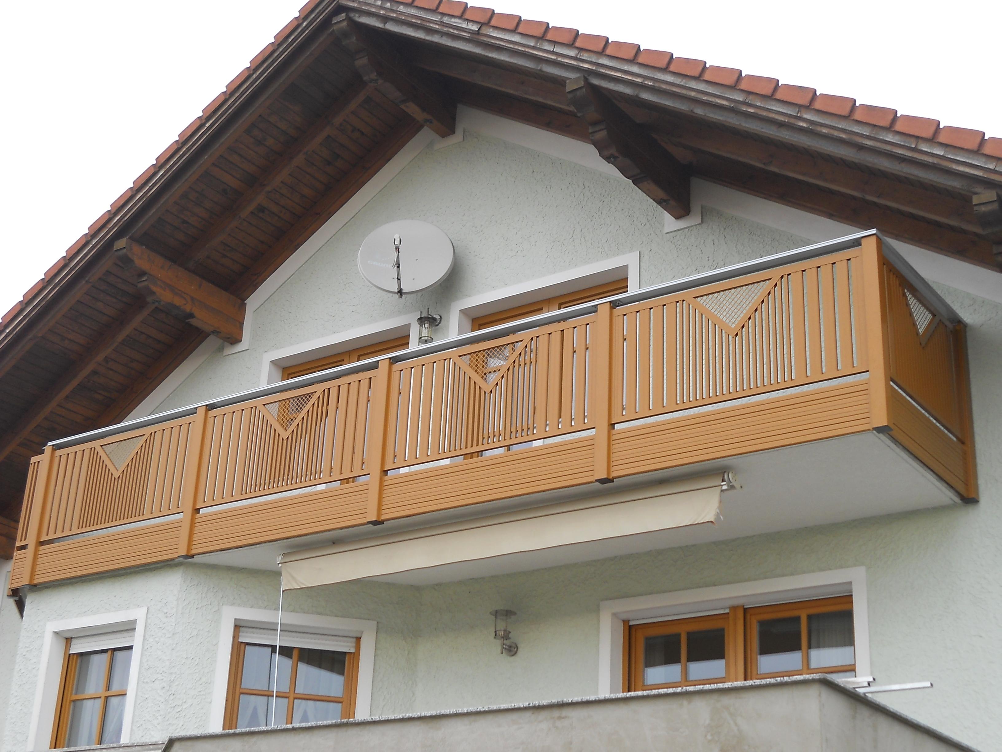 Alu Balkon 7