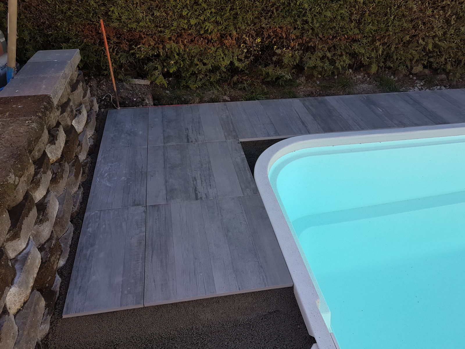 Terrassenplatten Poolumrandung 2