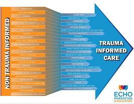 Trauma Informed Care Arrow (Echo Trainin