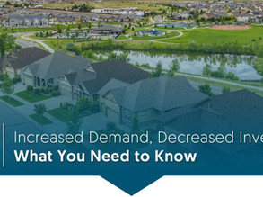 Increased Demand. Decreased Inventory: What You Need to Know