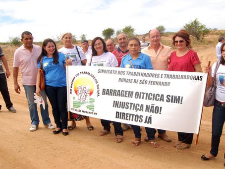 Complexo Barragem de Oiticica tem mais recursos liberados