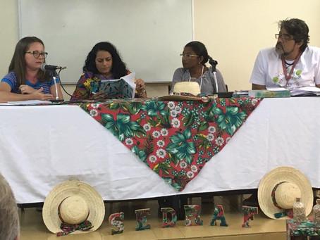 Representante de Barra de Santana defendeu direitos das famílias da comunidade