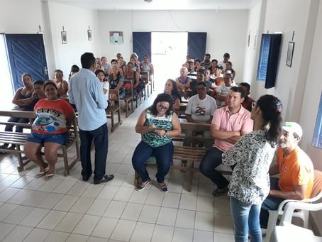 Famílias de Lajes Pintadas formalizam adesão ao Fomento