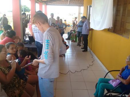 Seapac apresenta Projeto P1+2 às famílias de Serra Caiada