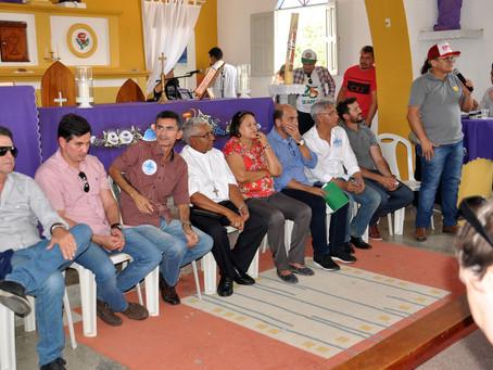 Barra de Santana define pauta para a audiência com governadora