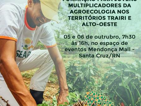 Seapac capacita jovens multiplicadores da agroecologia