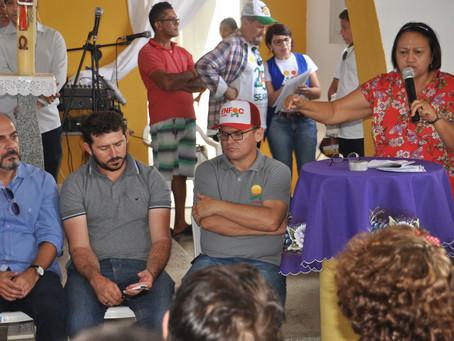 Governo agenda encontro com famílias na comunidade Barra de Santana