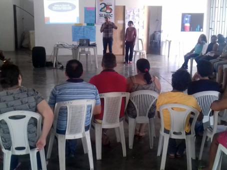 Projeto leva oficinas a famílias do complexo Barragem Oiticica