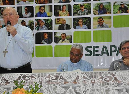 Evento comemorativo dos 25 anos do Seapac reuniu parceiros e beneficiários
