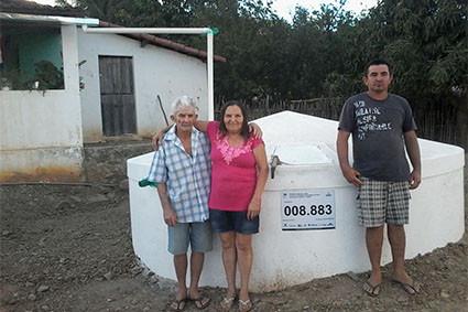 Seapac conclui contrato que levou cisternas a mais de 1.200 famílias