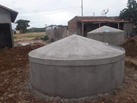 Seapac constrói as primeiras cisternas de famílias de Parelhas