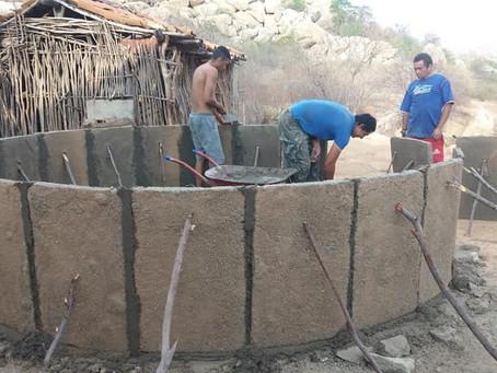Mais famílias vão conquistar cisternas de 16 mil litros