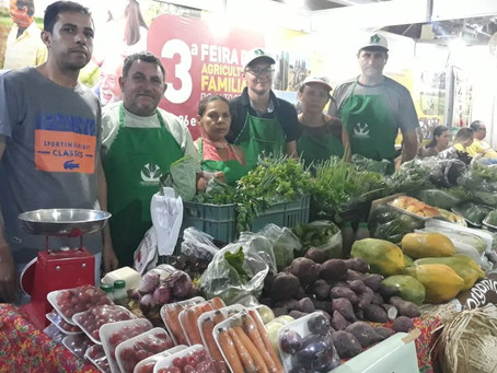 23ª FINECAP teve presença de agricultores agroecológicos