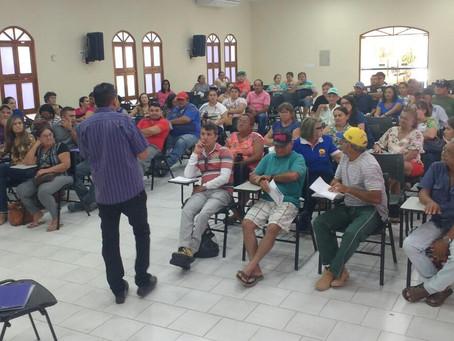 Famílias de Caicó se capacitam para receber cisternas
