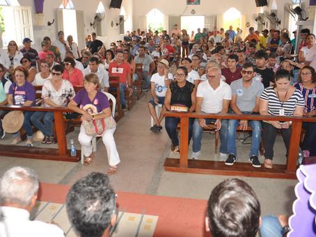Famílias de Barra de Santana discutem reivindicações feitas ao governo