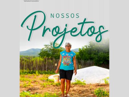 Confira nosso Catálogo de Projetos atualmente em execução pelo Seapac, lançado ontem (12/08)