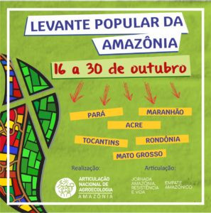 Articulação de Agroecologia realiza Levante Popular na Amazônia