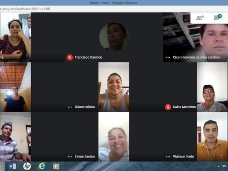 Primeira reunião virtual do fórum de associações rurais de Lagoa Nova-RN foi muito bem sucedida