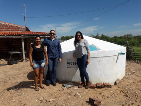 Governo vistoria cisternas construídas pelo Seapac em Parelhas