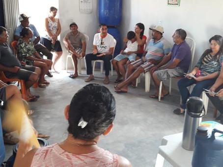 Famílias de Lajes Pintadas discutem implantação da Feira Agroecológica