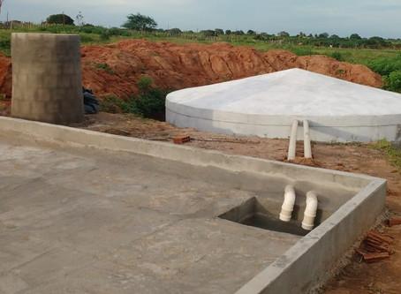 Seapac conclui as primeiras cisternas em comunidades de Serra Caiada