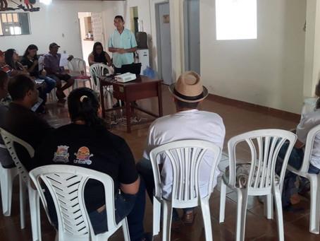 Agrônomo do Seapac assessora encontro do Fórum de Lajes Pintadas