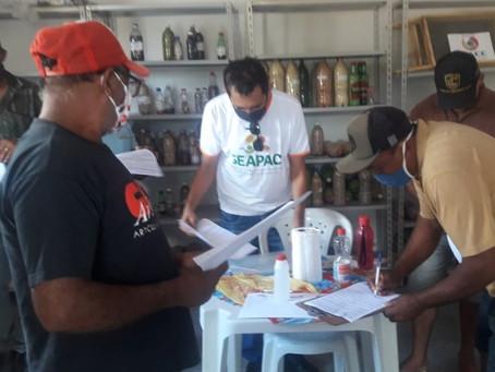 UPFs do município de Lajes Pintadas (RN), recebem visita do Seapac