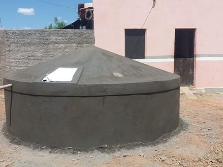 Equipe acelera trabalho de construção das cisternas no Seridó