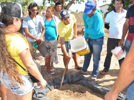 Seapac conclui capacitação de famílias de Serra Caiada