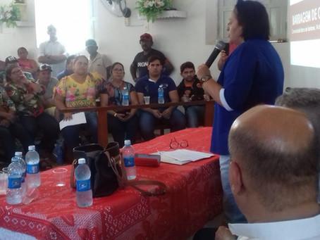 Governadora assina ordem de serviço da Nova Barra de Santana