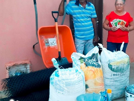 Construção das Cisternas Calçadão, beneficiam famílias acompanhadas pelo Seapac