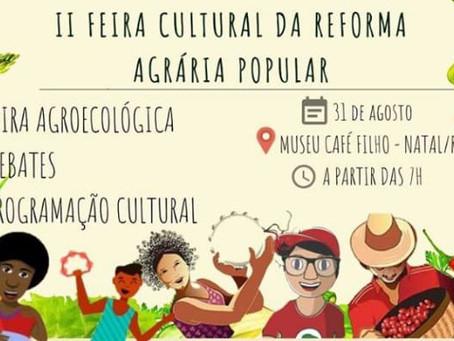 Produtores realizam 2ª Feira Cultural da Reforma Agrária Popular