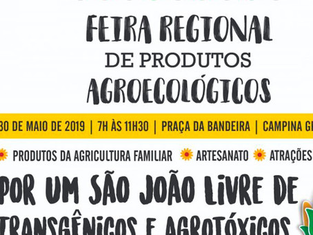Feira Agroecológica celebra Semana dos Orgânicos