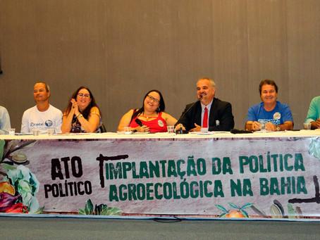 Ato Político reúne agricultores pela aprovação da Lei de Agroecologia