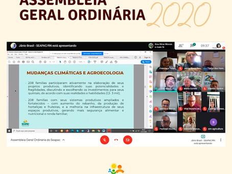 Seapac realiza Assembleia Geral Ordinária de maneira virtual