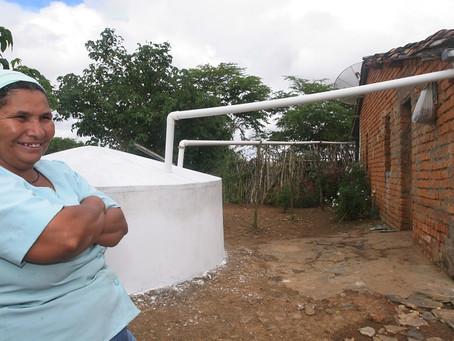 Pesquisa aponta impacto das cisternas na vida das mulheres