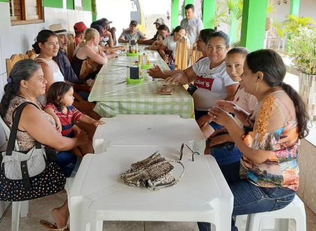 Famílias de Santa Cruz e São Bento do Trairi participam de capacitação em GRH
