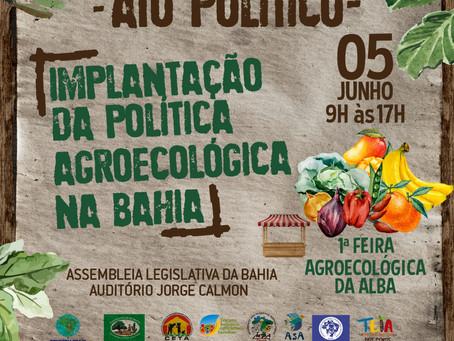 Bahia promove ato pela aprovação da Lei de Agroecologia e Produção Orgânica