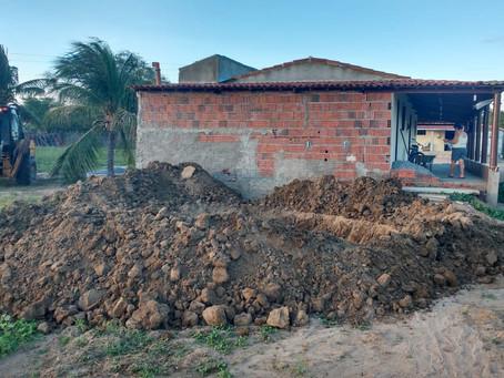 Seapac avança trabalho de construção das cisternas de Parelhas