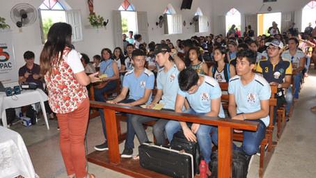 Evento em Barra de Santana mobilizou jovens do Seridó na luta por direitos