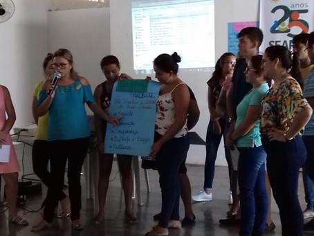 Famílias de Barra de Santana fazem curso sobre Associativismo