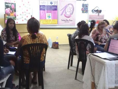 Mulheres do Bom Pastor participam de oficinas sobre Geração de Renda