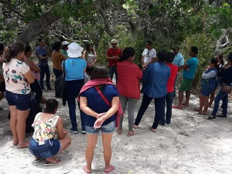 Famílias paraibanas conhecem experiências de famílias de Serra Verde