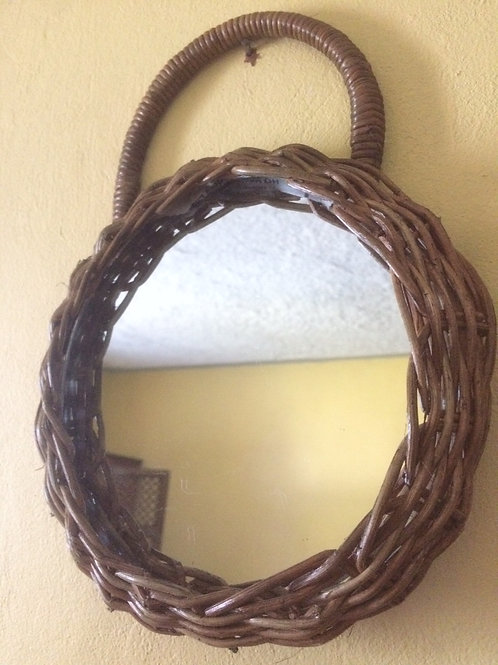 Wicker Mirror by Rastaman Owen