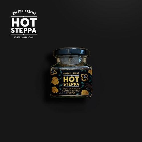 HOT STEPPA 100% JAMAICAN SCOTCH BONNET PEPPER (1.5oz) Hopewell Farms