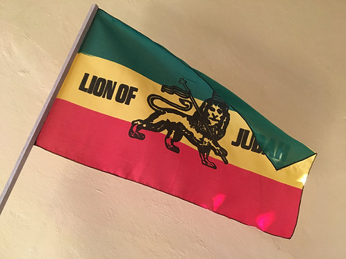 LION OF JUDAH rasta flag