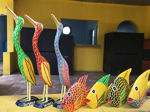 copy of Jamaican Handmade Carving Crafts - Fish Objet